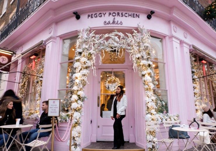London cafe: Peggy Porschen